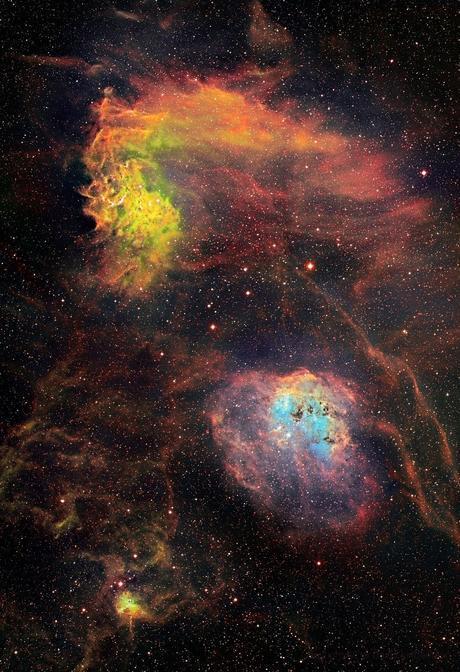 ✨Las nebulosas de Auriga por David Lindemann