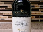 Mission Hill Family Estate Reserve Shiraz 2013