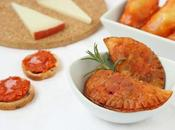 Empanadillas sobrasada, queso cebolla caramelizada