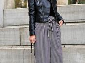 Pantalones culottes body terciopelo