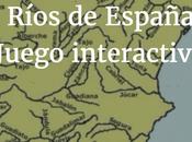 Ríos España. Juego interactivo para aprenderlos.