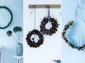 DIY: como decorar hacer CORONA FLORES silvestres percha