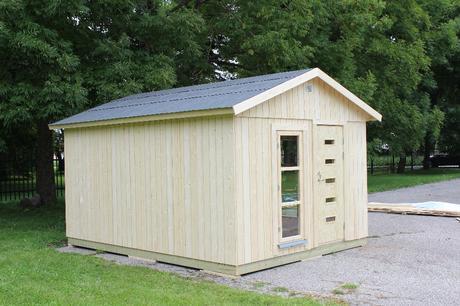 Caseta nórdica modelo Ly de 13.8 m²