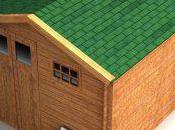 Monta fácilmente tégola asfáltica tejado