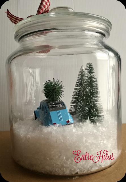 Tutorial como hacer una bola de nieve o snow globe - Como hacer bolas de nieve ...