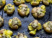 Patatas asadas chimichurri guindilla Parmesano