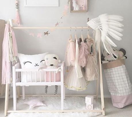 Ideas creativas: organiza la ropa de los más peques de la casa
