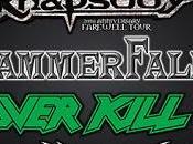 Leyendas Rock 2017: Rhapsody, Hammerfall, Overkill, Zenobia...