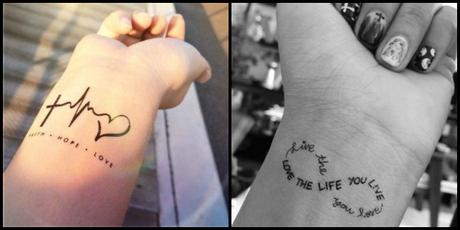 Tatuajes que representan las libertad y el amor propio