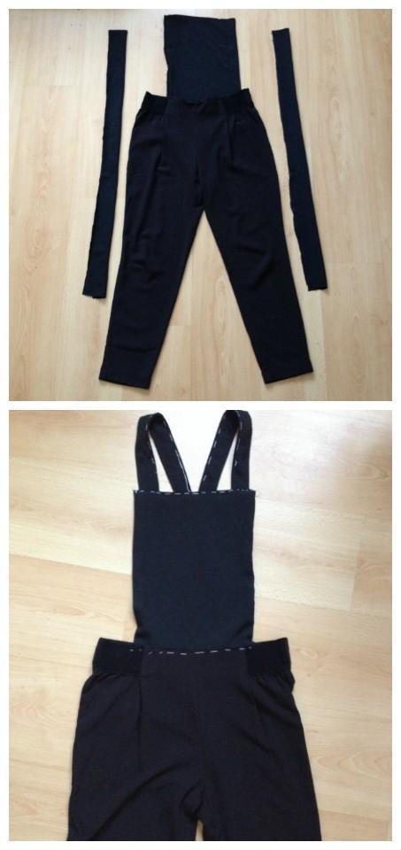 f8ed85f1f Como hacer un peto reciclando pantalones - Paperblog