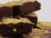 Brownie pistachos
