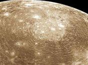 Calisto objeto sistema solar cráteres