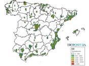 España: Mapa emisiones (Inventario EMEP 2014)