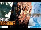 Todas invocaciones Final Fantasy