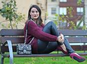 Outfit: Military Green Burgundy