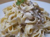 Receta Pasta suave bechamel bacón