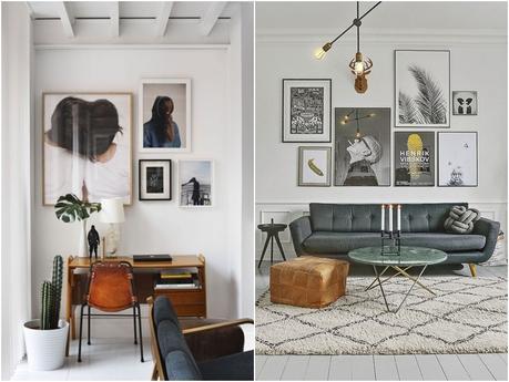 Ideas para decora tus paredes con fotos y lienzos paperblog - Decora tus paredes ...