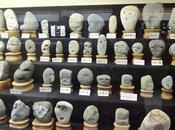 museo japonés rocas parecen caras humanas