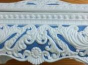 Caja estilo inglés resina
