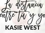 distancia entre Kasie West