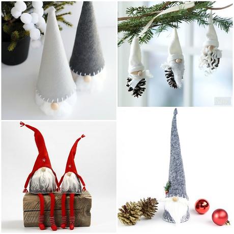 5 tutoriales gnomos escandinavos para navidad paperblog for Tutoriales de decoracion