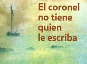 Reseña libro Coronel tiene quien escriba Gabriel García Márquez