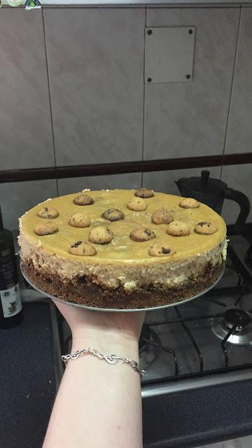 CHEESCAKE DE COOKIES