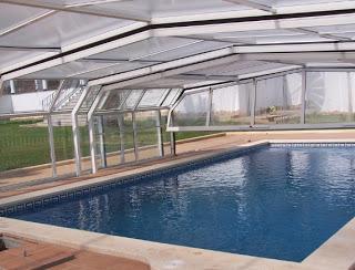Diferentes estructuras de cubiertas para piscinas paperblog for Estructura para piscina