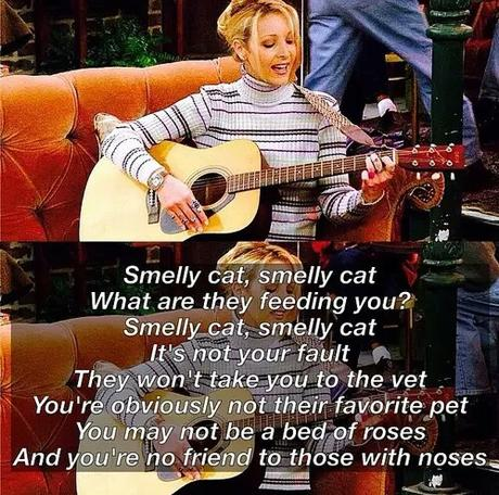 Imagen de phoebe buffay, song, and smelly cat