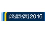 Campaña sobre Declaraciones Informativas 2016