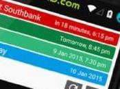 Calendar Notify muestra calendario actividades barra notificaciones Android...