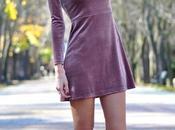 Look navidad: vestido terciopelo shok boots