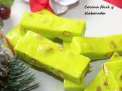 Turron pistacho chocolate blanco
