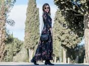 Look day: Flowers maxi dress