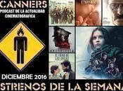 Estrenos Semana Diciembre 2016 Especial Rogue Podcast Scanners