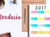 Freebie: Calendario 2017