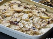 Receta patatas gratinadas boletus (estilo gratin dauphinois)