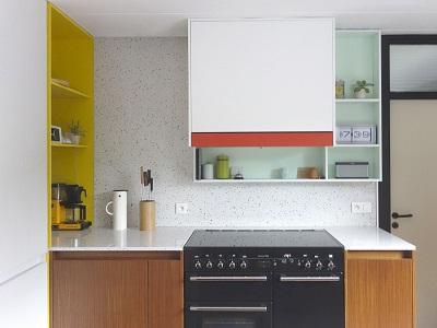 Combinaciones de Color en los Muebles de Cocina - Paperblog