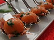 Bombones tomate