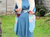 looks vestida azul punto aparte