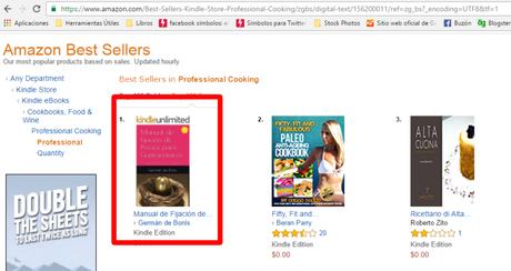 Mi primer Best Seller en Amazon