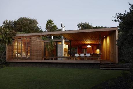 Caba a de madera moderna paperblog - Cabanas modernas ...