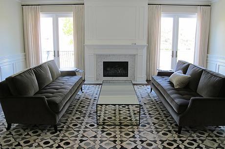 estilo clásico renovado para salón - Paperblog