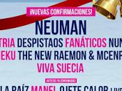 Neuman, Viva Suecia Nunatak entre nuevas confirmaciones SANSAN FESTIVAL 2017
