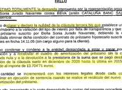 Primera sentencia España aplica retroactividad total cláusula suelo según TJUE