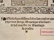 'Coplas muerte padre', Jorge Manrique (1460-1470)