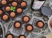 Trufas Chocolate Vino