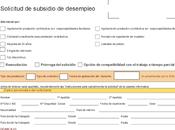 Subsidio desempleo, documentación aportar rentas.