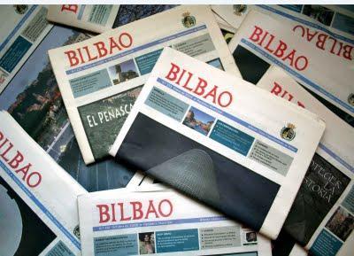 El periódico de Bilbao.