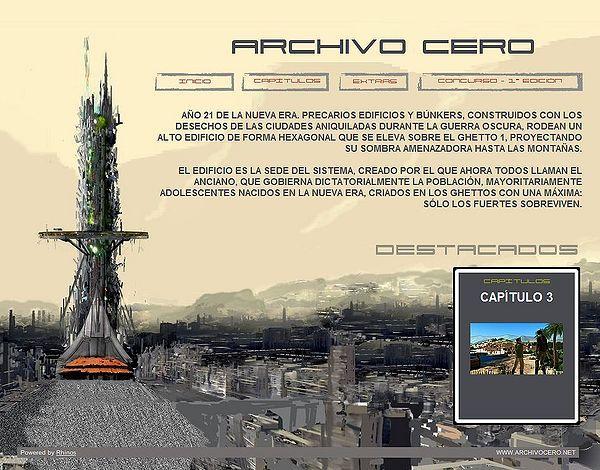 Archivo Cero: «otro Señor de los anillos» del siglo XXI, en cómic